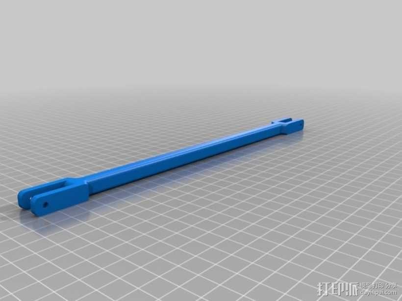 印刷斜杆 3D模型  图1
