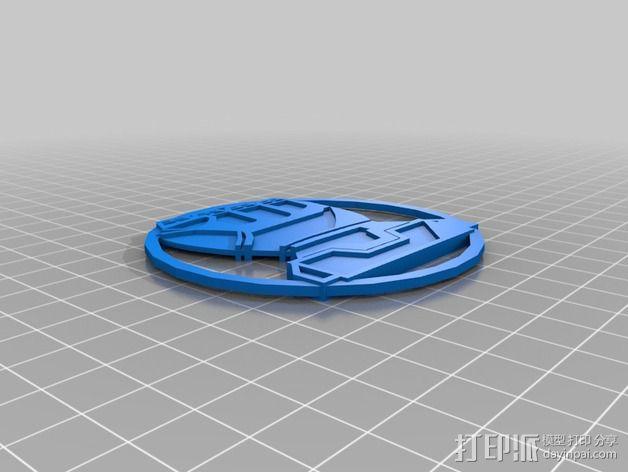 标志摆件 3D模型  图1