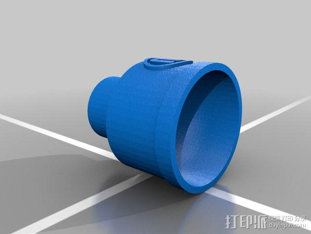 Replicator 2X风扇 3D模型  图2