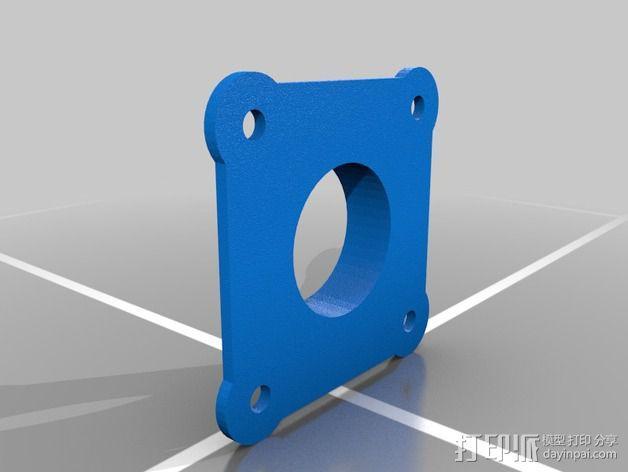 Replicator 2X风扇 3D模型  图3