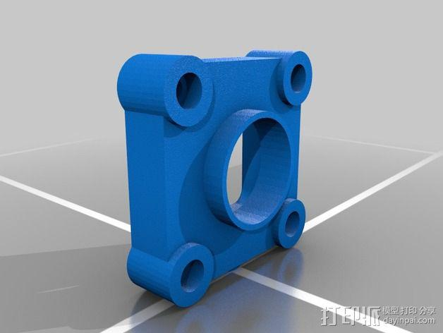 Replicator 2X风扇 3D模型  图4