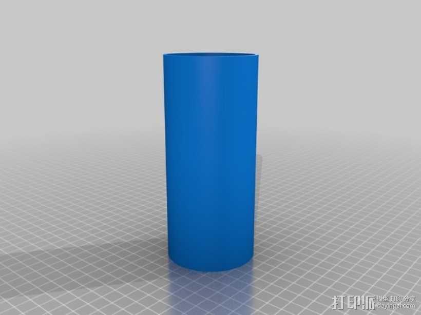 望远镜 3D模型  图2