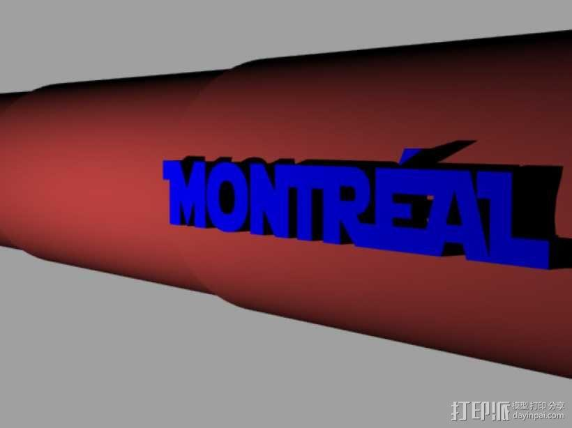 望远镜 3D模型  图1