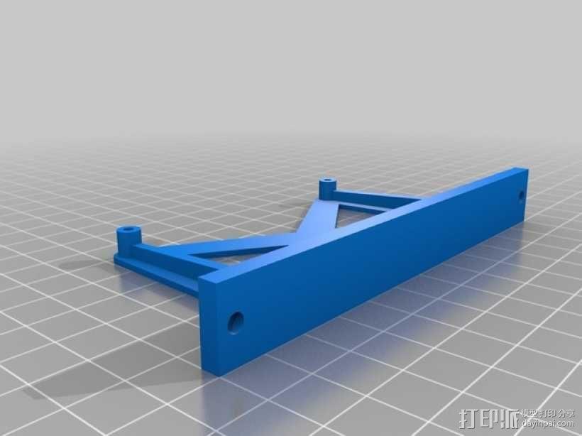 大型适配器 3D模型  图1