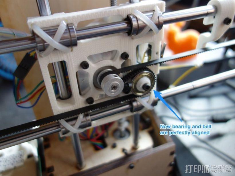 Y轴扩展器 3D模型  图1