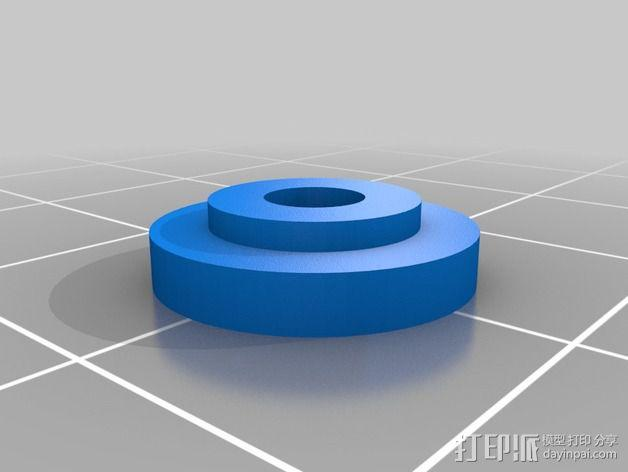 Y轴扩展器 3D模型  图2