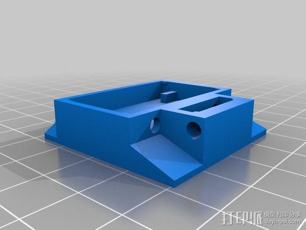 XYZ轴多功能适配器 3D模型  图1