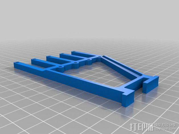 线丝轴 3D模型  图3