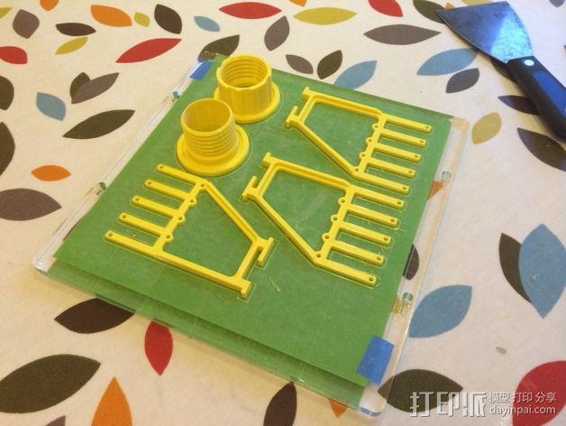 线丝轴 3D模型  图5