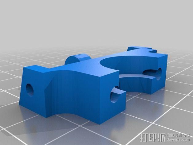 风扇替代 3D模型  图2