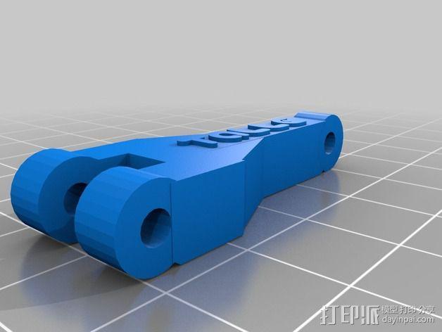 风扇替代 3D模型  图4