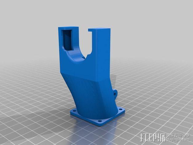 风扇替代 3D模型  图3
