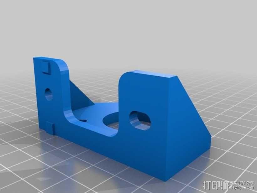 Y轴适配器 3D模型  图2