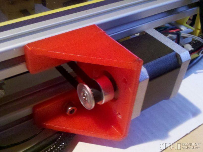 Y轴适配器 3D模型  图3