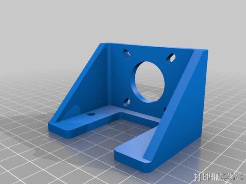 Y轴适配器 3D模型  图4