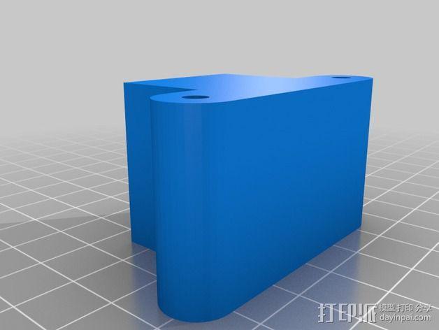 MendelMax 1.5 Y轴适配器 3D模型  图3