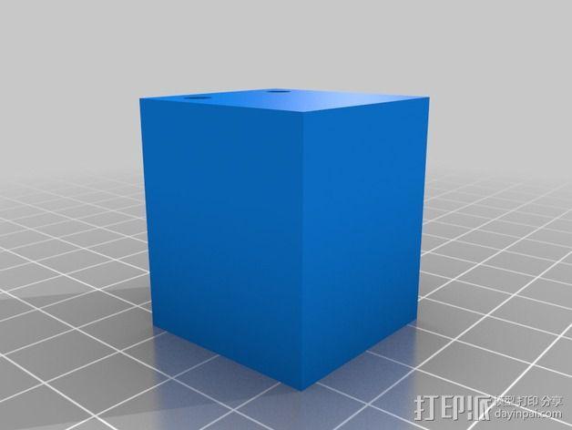 MendelMax 1.5 Y轴适配器 3D模型  图4