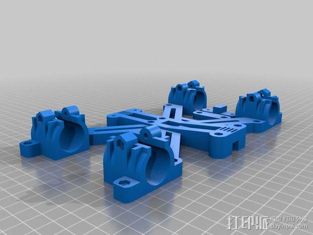 MendelMax 1.5 Y轴适配器 3D模型  图7