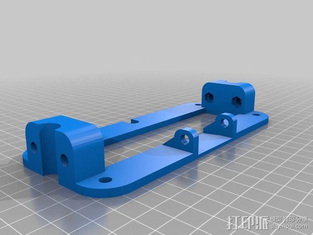 MendelMax 1.5 Y轴适配器 3D模型  图6