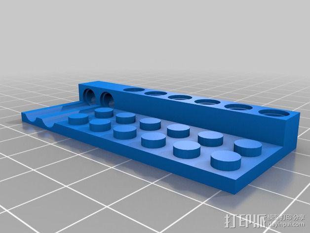 乐高兼容测试 3D模型  图2