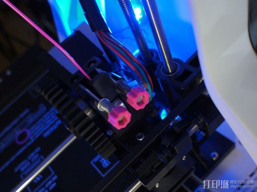 花式螺旋按钮 3D模型  图1