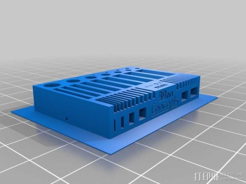 水平校准器 3D模型  图1