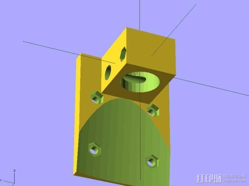 E3D适配器 3D模型  图1