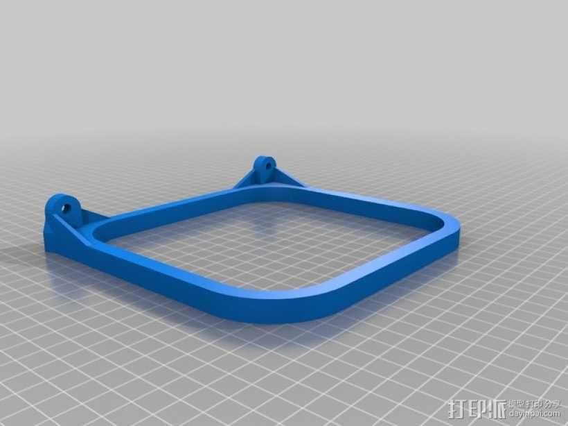 挂载架 3D模型  图2