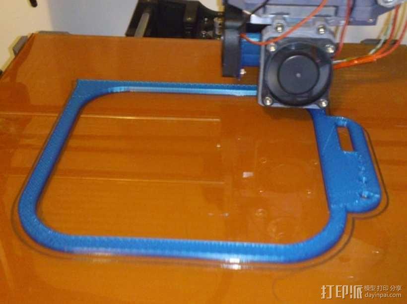 挂载架 3D模型  图1