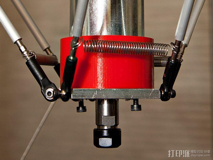 CNC适配器 3D模型  图1