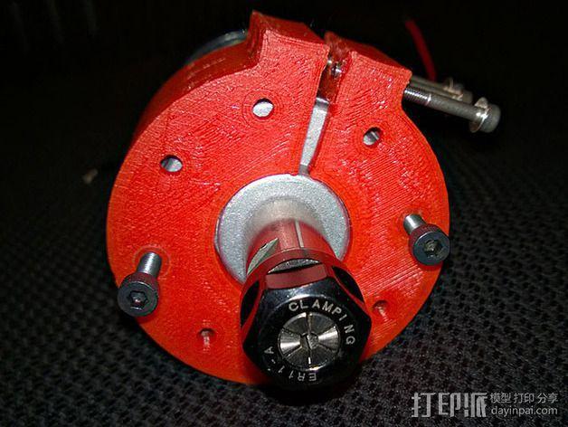 CNC适配器 3D模型  图3