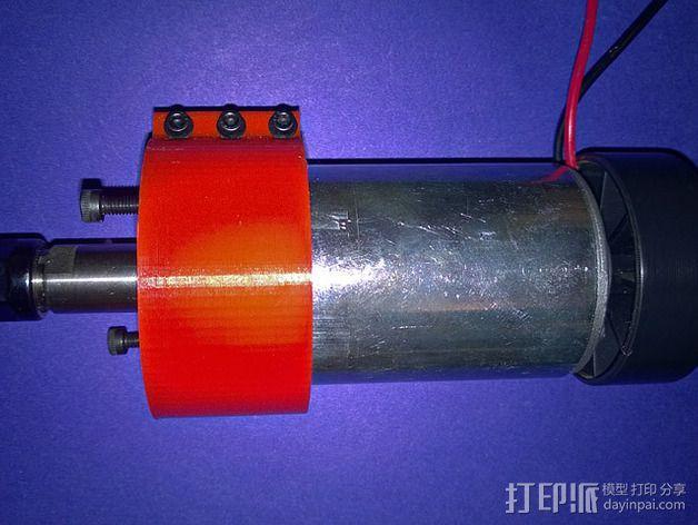 CNC适配器 3D模型  图6