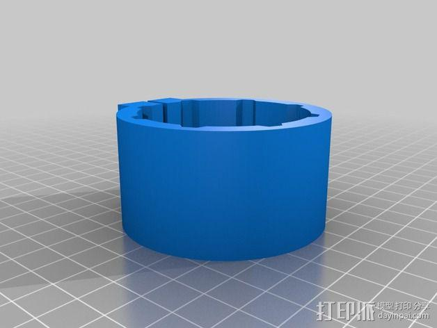 CNC适配器 3D模型  图5