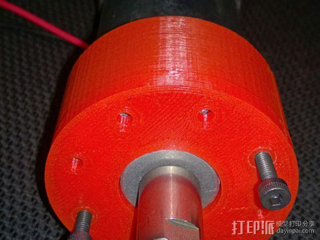 CNC适配器 3D模型  图4