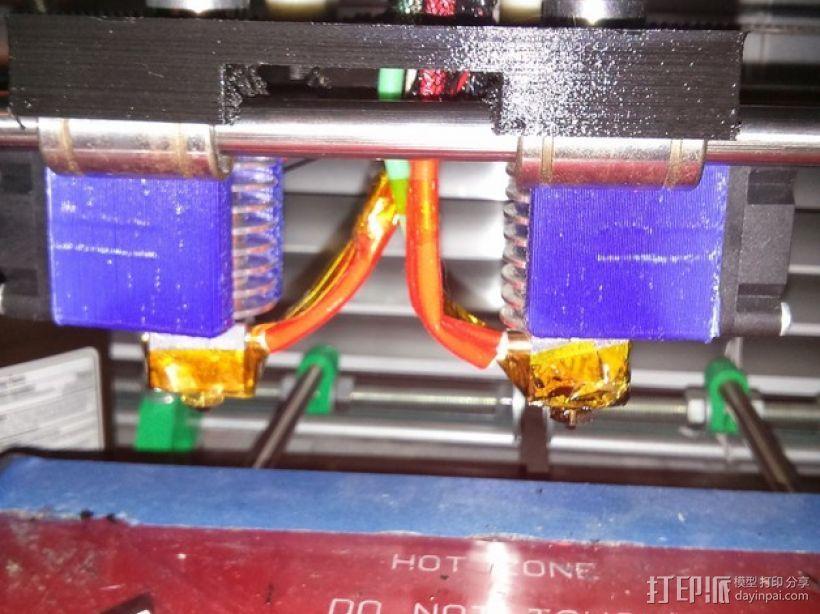 E3D挤出器 3D模型  图1