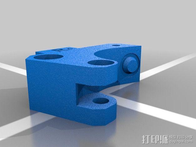 挤出器升级版 3D模型  图2
