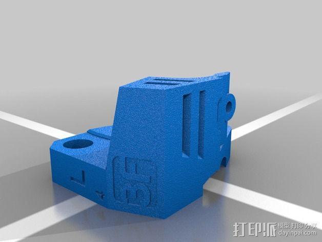 挤出器升级版 3D模型  图4