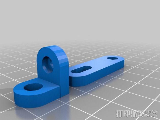 K8200支架 3D模型  图4