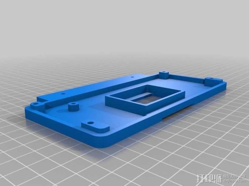 适配器外壳 3D模型  图2