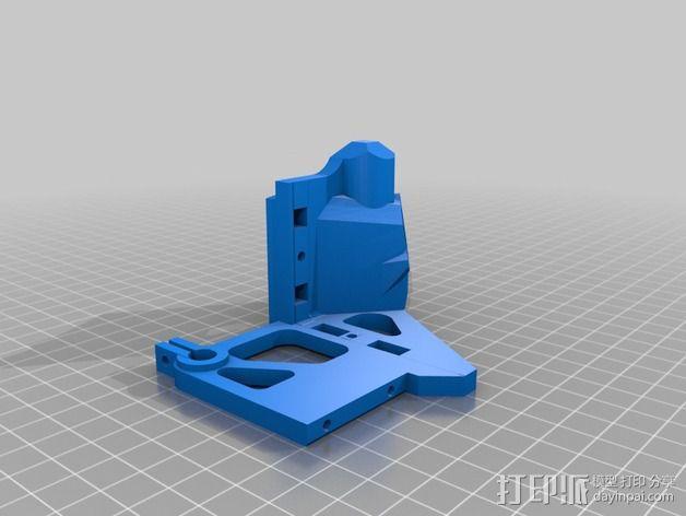 挤出器 3D模型  图2