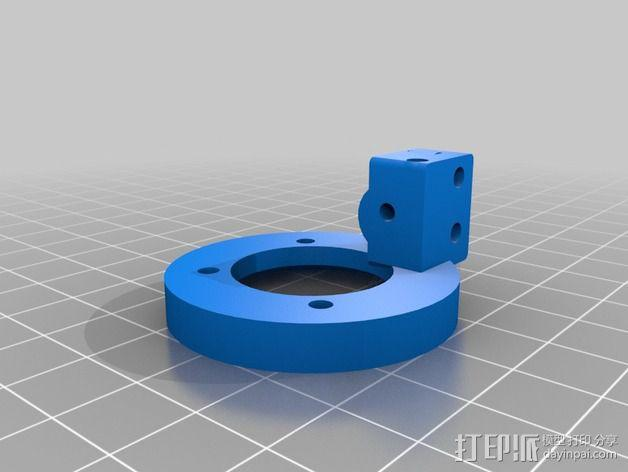 挤出器 3D模型  图8