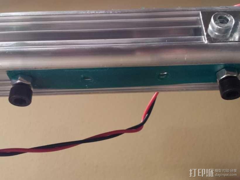 K8200螺丝适配器 3D模型  图2