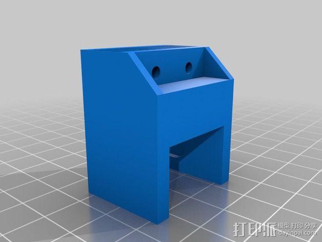 X轴适配器 3D模型  图8