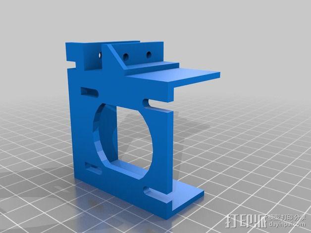 X轴适配器 3D模型  图9