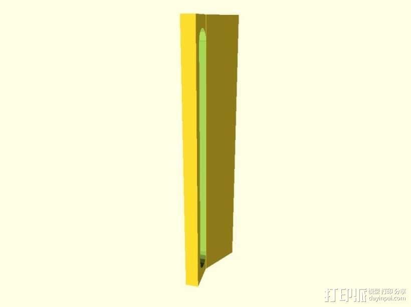 Prusa i3导线器 3D模型  图1