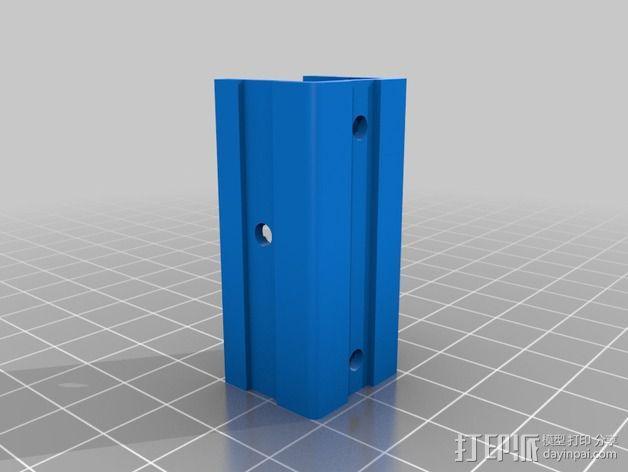 适配器 3D模型  图3