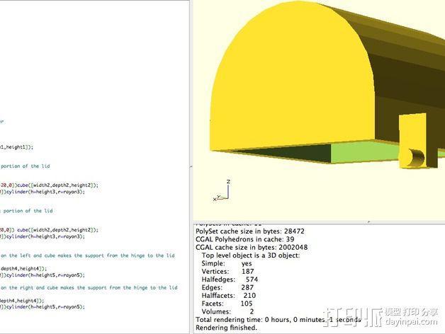 盒子 3D模型  图3