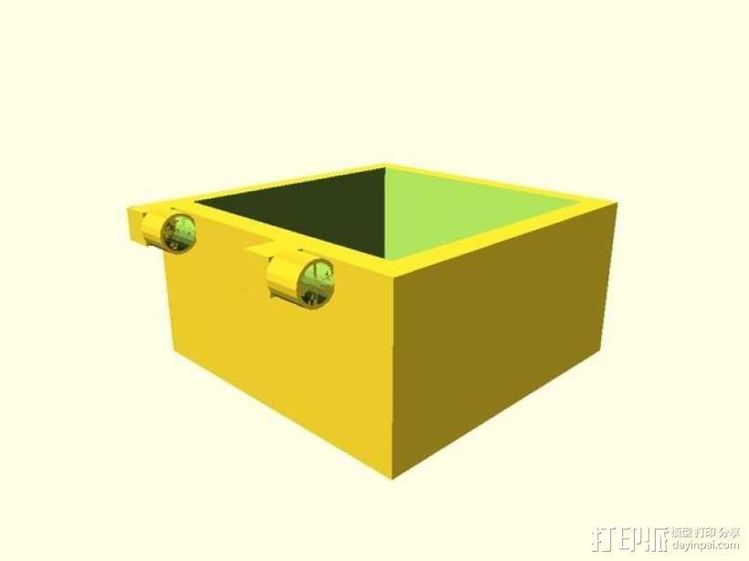 盒子 3D模型  图1