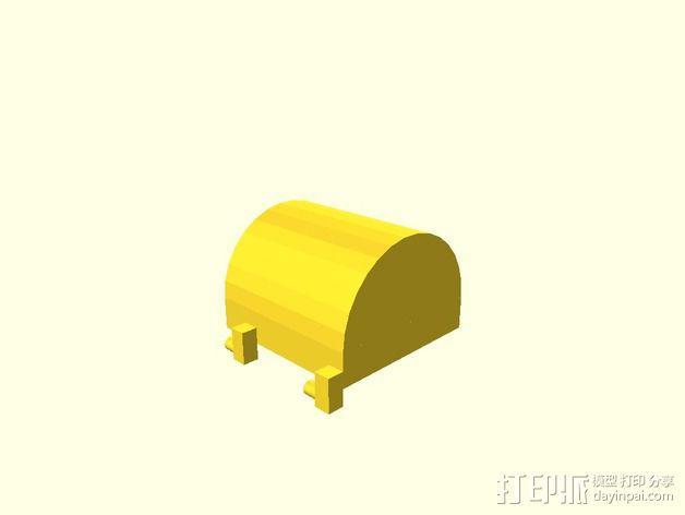 盒子 3D模型  图2