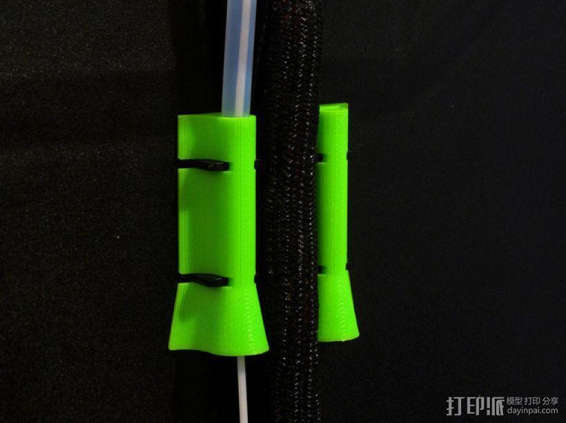 Rep 2x导线器 3D模型  图1